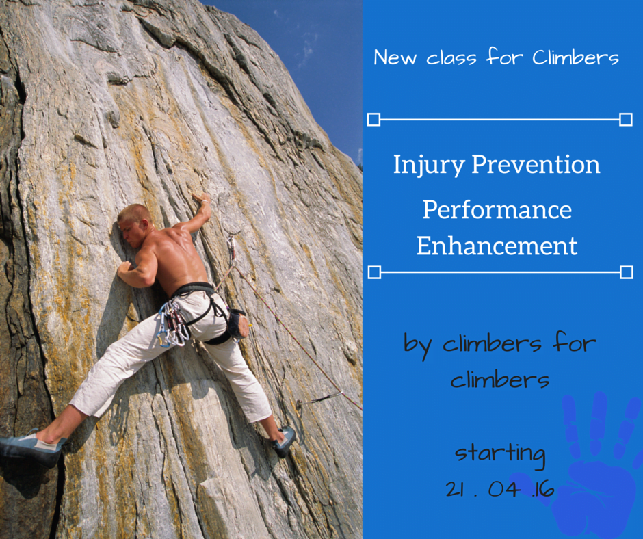 Injury Prevention, Performance Enhancement Course for Climbers