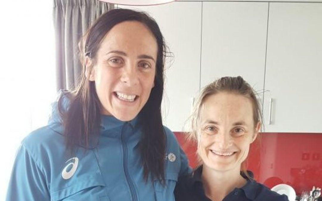 Working with Wallaroo Bec Clough, sport masasge, womens rugby world cup