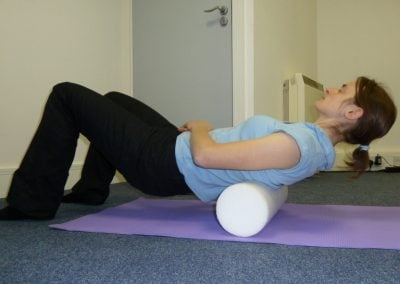 Foam Rolling for the Back