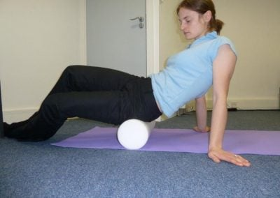 Foam Rolling for the Gluteals